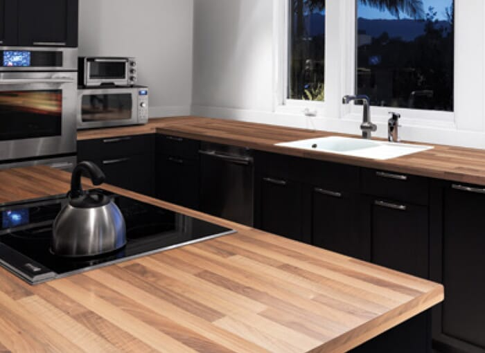 38mm/40mm Laminate Beech Worktops