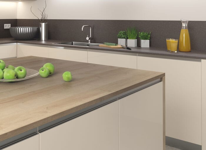 38mm Laminate Oak Worktops