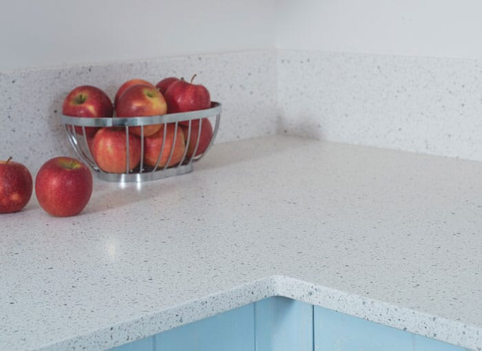 Acrylic Sparkle Worktops