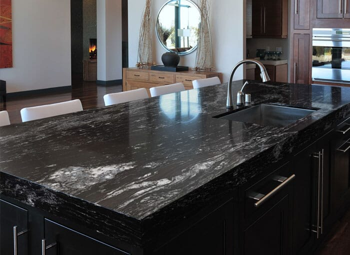 Granite Black Worktops