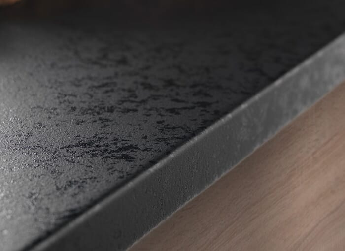 Laminate Black Worktops