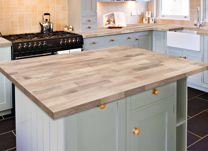 Prime Oak Wooden Kitchen Worktops