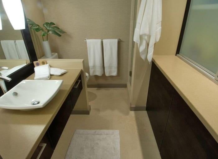 Quartz Bathroom Worktops