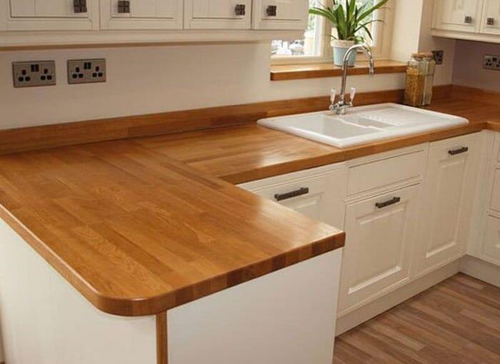 Teak Wooden Worktops